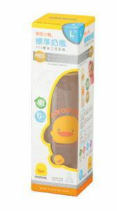 Piyo 黃色小鴨 標準口徑大PES奶瓶 (240ml)【悅兒園婦幼生活館】 1