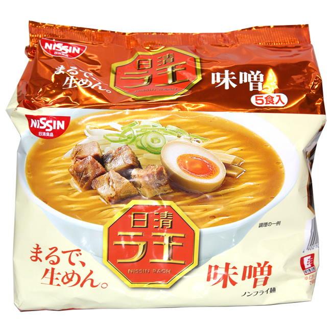 日清麵王5食包麵-味噌510g袋