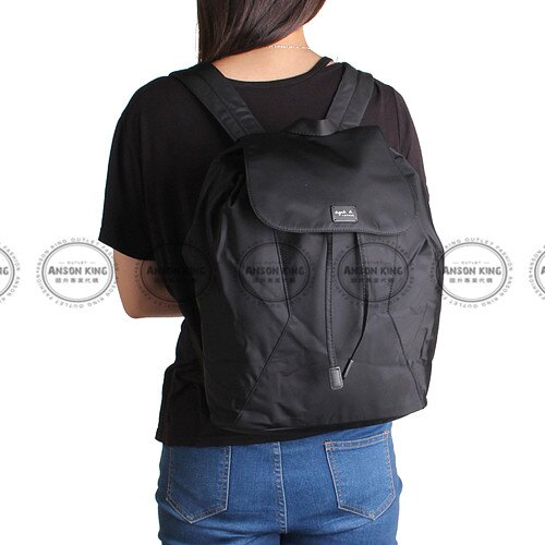 Outlet代購 agnes.b 亞洲限定款 後背包 小b (黑色) 二 色 書包 通勤包 雙肩包 斜挎包 防水 4
