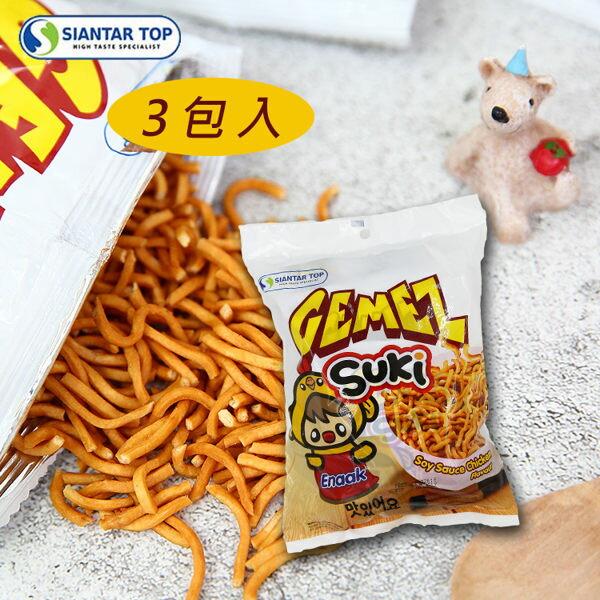 韓國GEMEZSUKI韓式小雞麵(3入裝)90g【庫奇小舖】