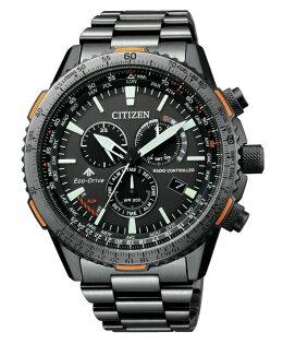 CITIZEN星辰CB5007-51HPROMASTER光動能電波腕錶黑45mm