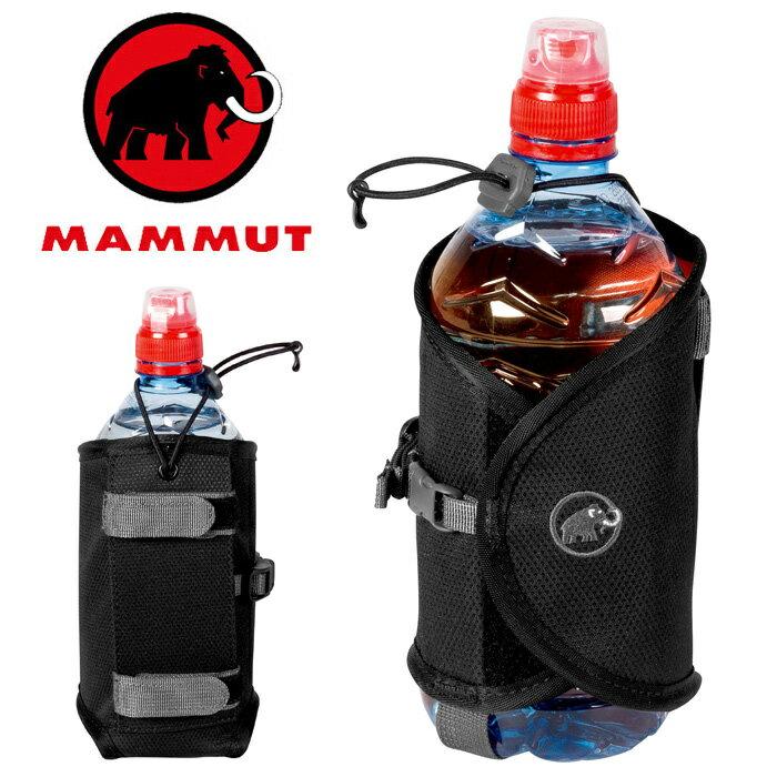 【Mammut 長毛象 瑞士】Add-on 水瓶杯套 水壺套 黑色 (00100-0001)