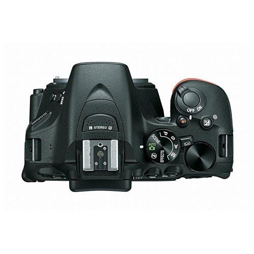 "Nikon D5500 24.2 Megapixel Digital SLR Camera with Lens International Version - 18 mm - 140 mm - 3.2"" Touchscreen LCD - 16:9 - 7.8x Optical Zoom - i-TTL - 6000 x 4000 Image - 1920 x 1080 Video - HDMI - PictBridge - HD Movie Mode - Wireless LAN 3"