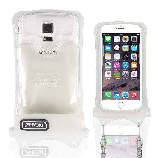 DiCAPac WP-C1s(有現貨)手機防水袋(5.1吋)-白色