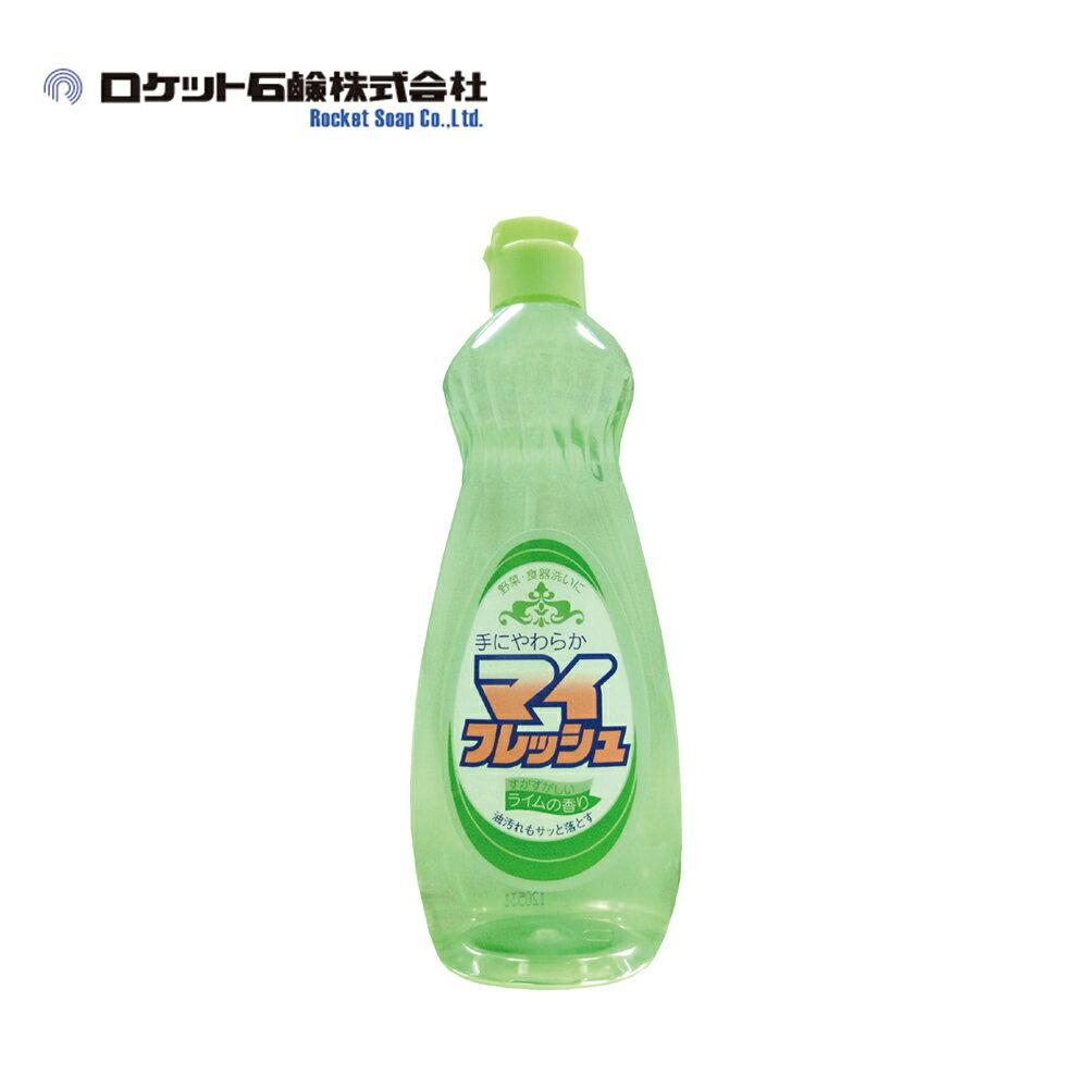 【日本Rocket】My Fresh蔬果碗盤洗潔精-萊姆清香 600ml