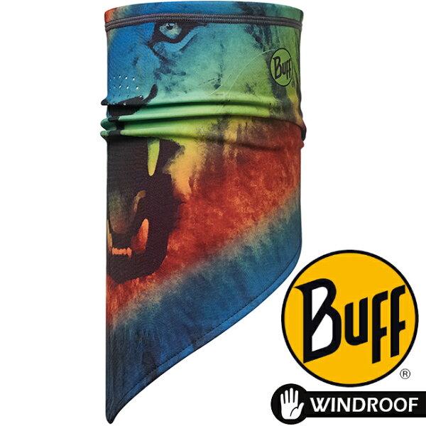 【【蘋果戶外】】BF113375BUFFKETTEN防潑抗風保暖斜三角巾霸氣獅吼脖圍巾口罩冬季魔術頭巾