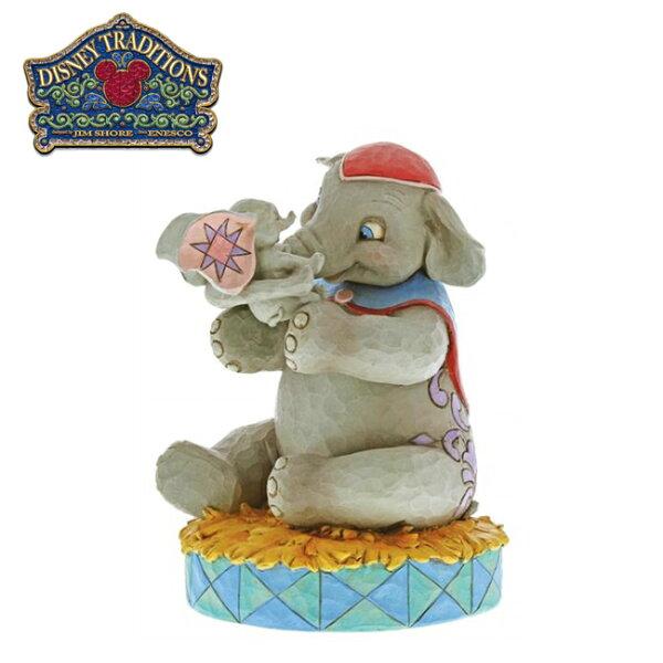 【正版授權】Enesco小飛象母親節塑像公仔精品雕塑Dumbo迪士尼Disney-956079