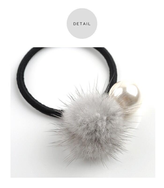 日本CREAM DOT  /  可愛毛毛髮圈 髮帶  /  qc0113  /  日本必買 日本樂天直送(990) 4