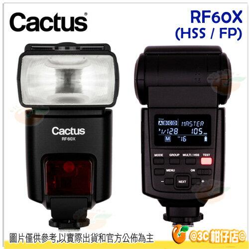 免運 Cactus RF60X 無線閃光燈 2代 跨系統 HSS 高速同步 閃燈 可搭配 V6 II 接收器公司貨 閃燈 Canon Nikon Sony pentax