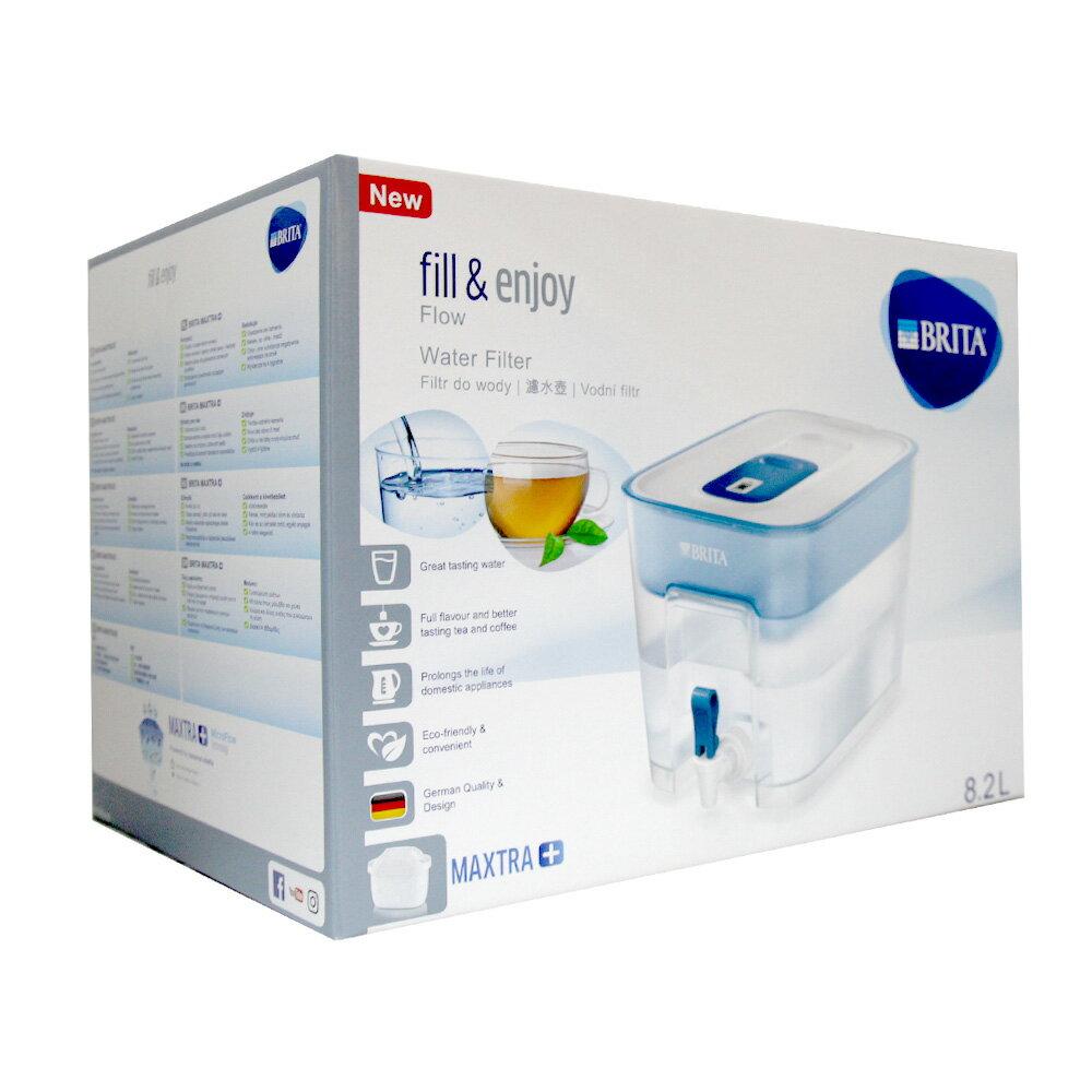 BRITA Optimax FLOW 8.2L 濾水箱 (附濾芯一入) #88149