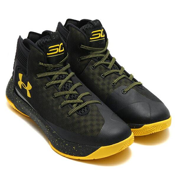 《出清59折》Shoestw【1298308-002】UNDER ARMOUR UA 籃球鞋 CS 3 ZERO 高筒 CURRY 黑黃 男生 2