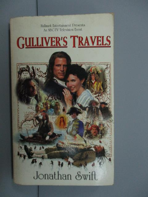 【書寶二手書T1/原文小說_NNW】Culliver's Travels_Jonathan Swift