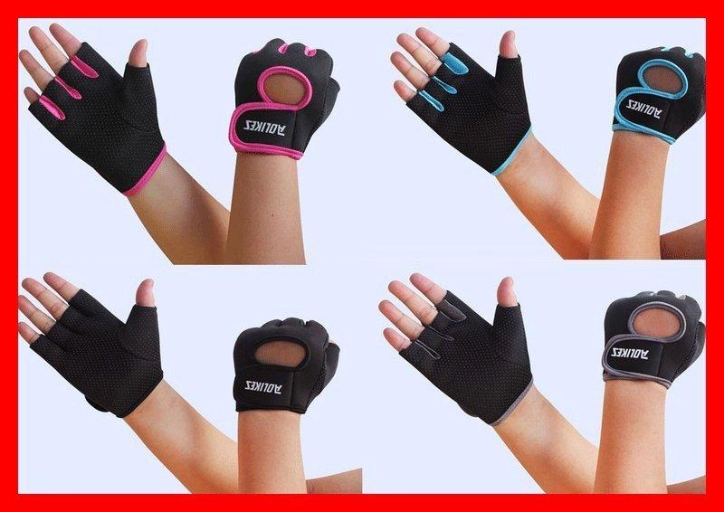 ~Aolikes健身手套.下殺110元~. 手套、半指手套、自行車、慢跑、 員手套、防滑手