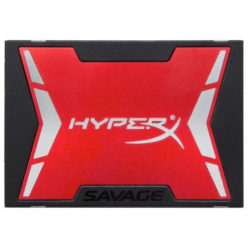 """Kingston HyperX Savage 240 GB 2.5"""" Internal Solid State Drive - SATA - 560 MB/s Maximum Read Transfer Rate - 530 MB/s Maximum Write Transfer Rate"""