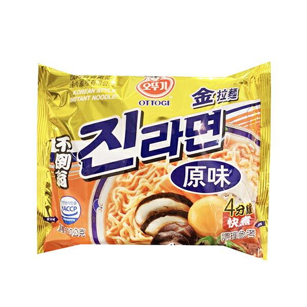 【豆嫂】 韓國泡麵 OTTOGI不倒翁 金拉麵(原味)(單包)