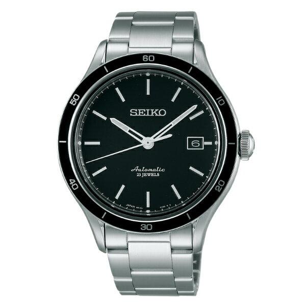 Seiko Presage 6R15-02V0D(SARG013J)城市經典機械腕錶/黑面41mm