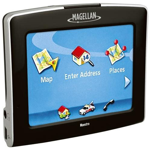 Magellan Maestro 3250 Portable GPS System w/ Built-in Maps & Voice Command 1
