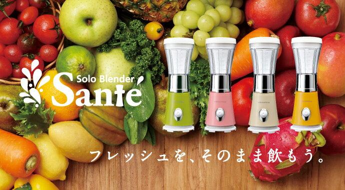 日本 Recolte Solo Blender Sante 麗克特迷你調理果汁機  (預購)