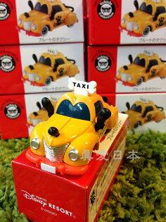 【真愛日本】16041600017限定樂園小車-布魯托TAXI   海洋迪士尼 迪士尼樂園