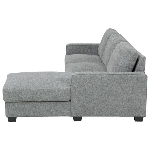 ◎布質左躺椅L型沙發 CASAREDO NITORI宜得利家居 2
