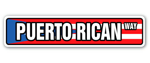 """PUERTO RICAN FLAG Street Sign puerto rico national nation pride Indoor/Outdoor 24"""" Wide 3fd6dfb649b5bf323313aea045b9be0b"""