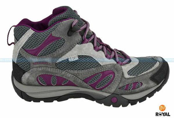 MERRELL 新竹皇家 AZURA MID GORE-TEX 深灰/紫 水陸兩棲 涼鞋 女款 NO.I4734