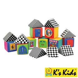 美國 K's Kids奇智奇思 寶寶感官積木組