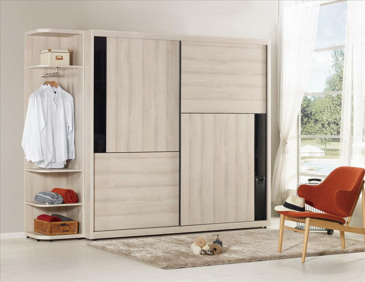 【石川家居】KM-592-3 優娜1.5尺置物開放衣櫃 可左右擺放 (不含五尺和七尺衣櫃) 高雄到台北滿五千享折扣