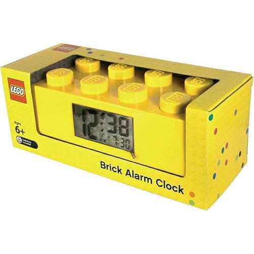 【樂高積木LEGO】樂高經典積木鬧鐘系列-檸黃