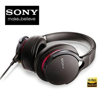 【贈原廠木質耳機架】SONY 耳罩式耳機 MDR-1ADAC Hires高音質 超廣音域 絕佳音質 擴大音量 智慧手機線控【公司貨】