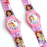 兒童節禮物Children's Day到迪士尼兒童錶 蘇菲亞小公主 【NE1950】柒彩年代