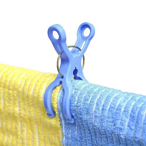 日本AISEN【便利機能】6入曬竿專用衣夾