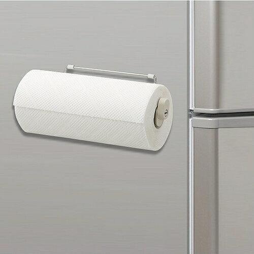 【包裝破損】日本LEC磁吸式不鏽鋼伸縮紙巾架