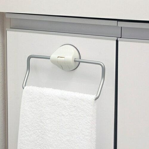 日本LEC鋁合金吸盤毛巾架