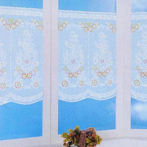 日本 MEIWA 靜電抗菌蕾絲窗貼(小菊花)
