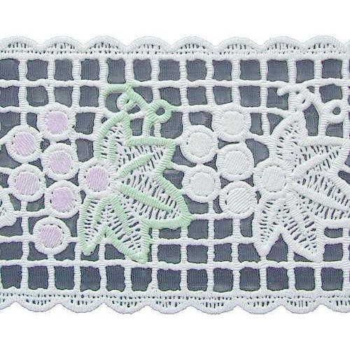 日本 MEIWA 靜電抗菌蕾絲窗貼(紫葡萄小)