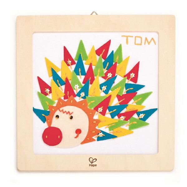 東喬精品百貨商城:【免運費】《德國Hape愛傑卡》木製工藝系列-刺蝟刺繡