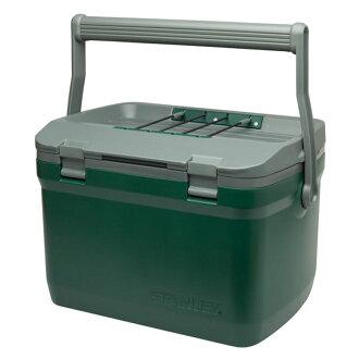 桃源戶外 美國 Stanley Coolers 15.1L 保冰箱 綠色 1001623 保冷箱 露營 戶外 旅遊 野餐