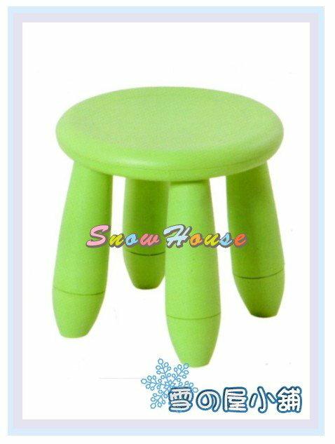 ╭☆雪之屋居家生活館☆╯AA586-08 摩登彩色椅(綠色)/餐椅/休閒椅/造型椅/兒童椅/沙發椅/沙發矮凳
