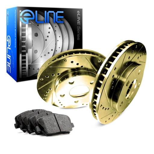[FRONT] Gold Edition Drilled Slotted Brake Rotors & Ceramic Pads FGC.68001.02 7773fde548c9cebe940cf0370ab658e3