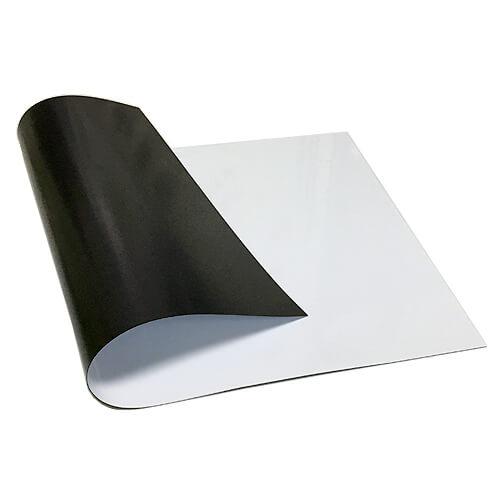 【文具通】群策 16A01 軟性 白板 S707 300X400x0.65mm 有磁性 可吸附於金屬平面上 正面如要吸附東西需磁性較強的吸鐵 A2010168