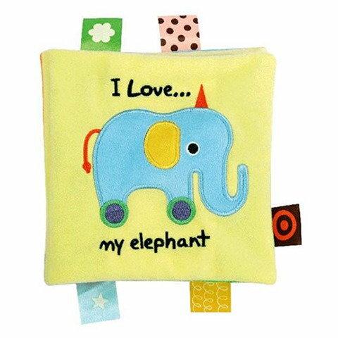 【淘氣寶寶】奇智奇思 K's Kids 我愛我的大象 感官●學習●布書【保證公司貨●品質有保證●非水貨】