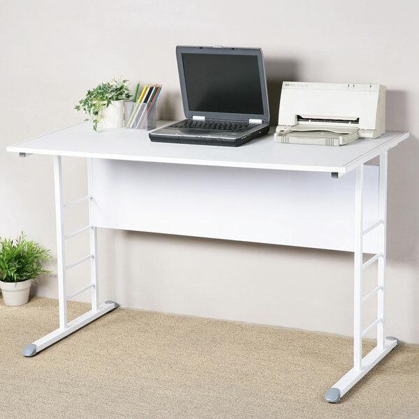書桌 工作桌 辦公桌 電腦桌《YoStyle》馬克120cm辦公桌-仿馬鞍皮(二色可選)