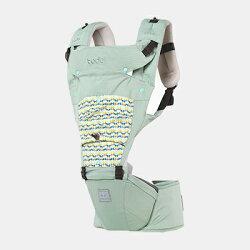 韓國 Todbi Air Motion Blossom機棉氣囊坐墊式背巾(淺綠)