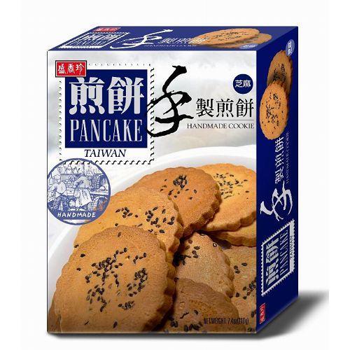 盛香珍 手製煎餅系列210g 芝麻 [928福利社]奶蛋素