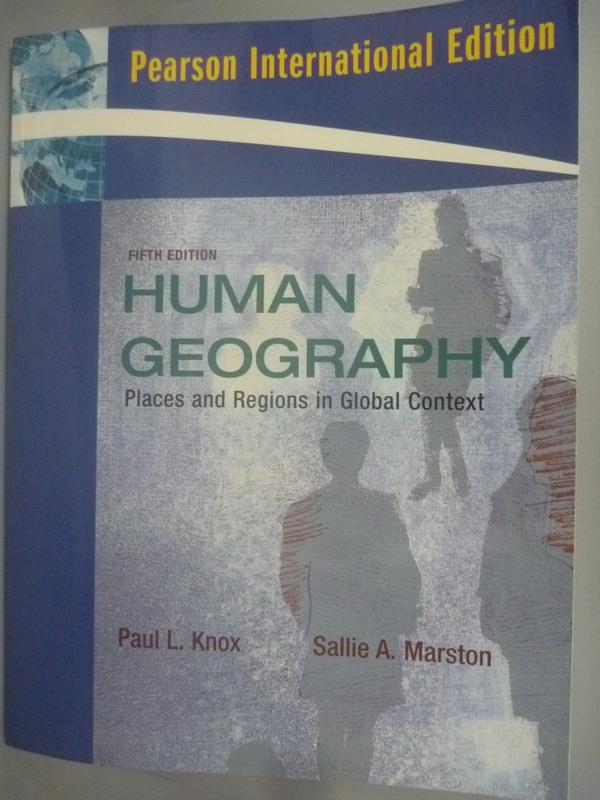 ~書寶 書T3/大學社科_XDQ~Places and Regions in~ Human