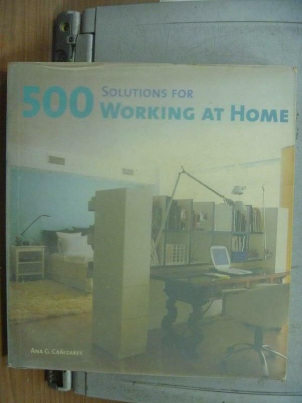 【書寶二手書T8/設計_PNO】Solutions for 500 working at home