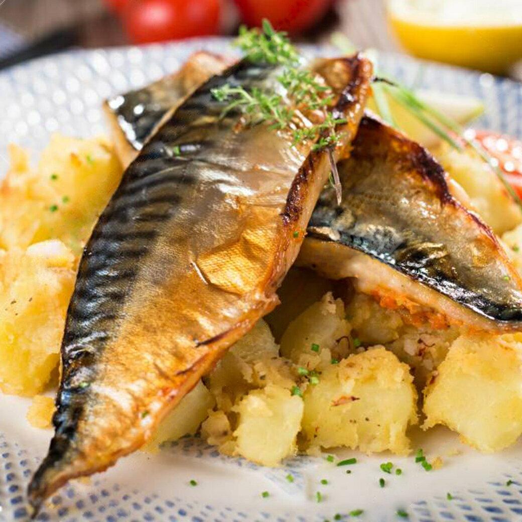 【易特生鮮】挪威薄鹽鯖魚片(200g30/片)➤肥嫩多汁,網路團購熱銷品