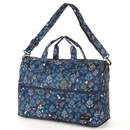 【百倉日本舖】日本進口 HAPI+TAS折疊式波士頓包/旅行袋/手提袋