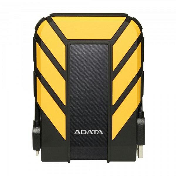 【滿千折100+最高回饋23%】ADATA 威剛 HD710 PRO 2T 2TB USB3.1 2.5吋 軍規外接行動硬碟-黃 1